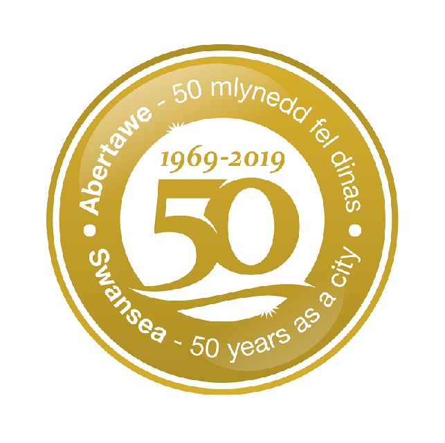 Swansea 50 Years icon 2019