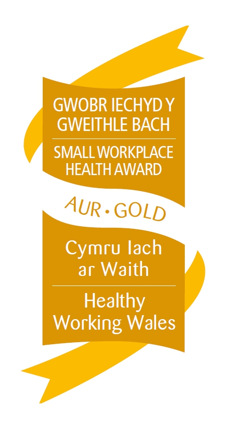 GOLD Small Workplace Health Award Graphic
