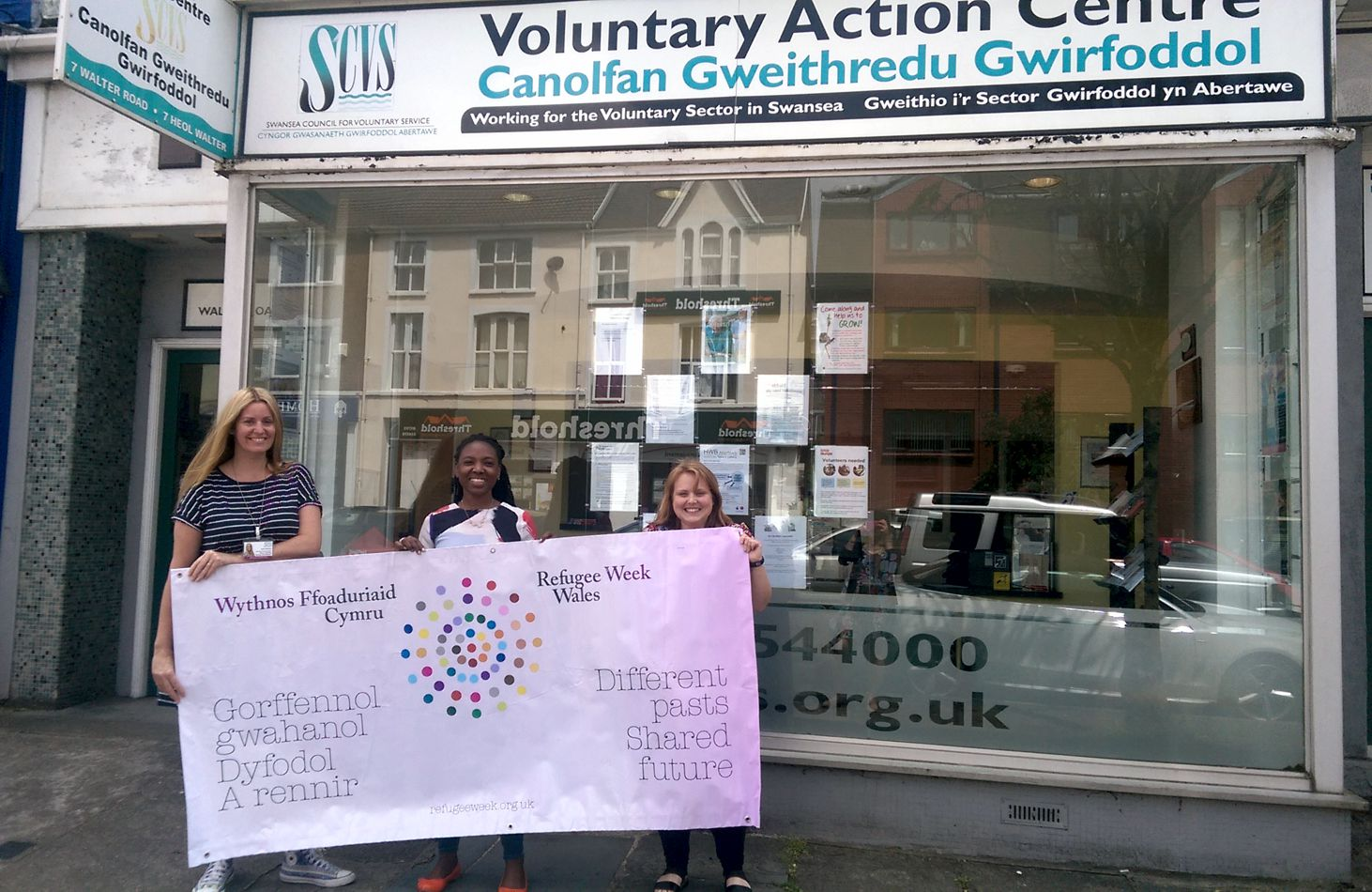 SCVS and CoS Refugee Week picture June 2017
