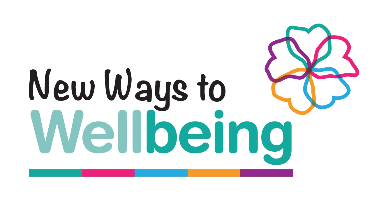 New Ways to Wellbeing - Cwmtawe Soc Pres Proj logo 2018