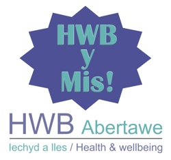 HWB of the month graphic cymraeg Mar17