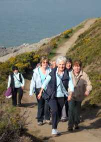 Merched y Wawr - Cerdded Caswell gorau - walking group in Caswell