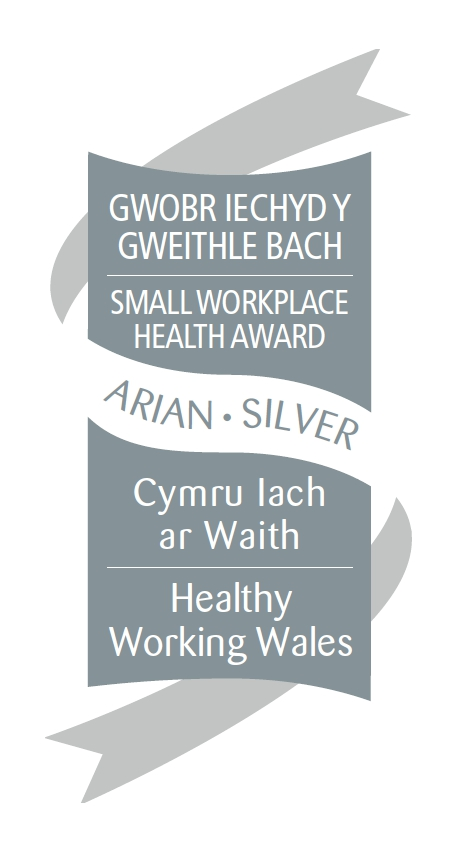 Silver Small Workplace Health Award - SCVS awarded Aug 17