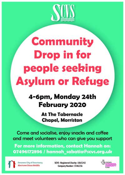Better Welcome - Morriston drop in flier Feb 2020