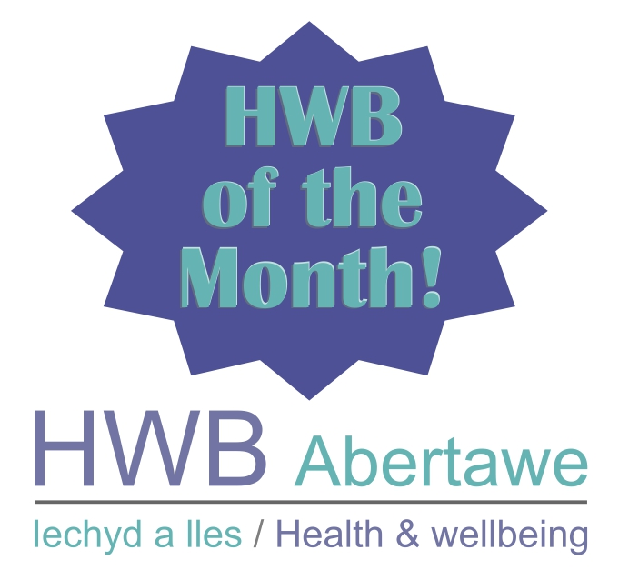 HWB of the month graphic