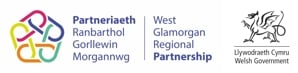 Swansea North Dementia Proj funders - west glam and WG logo combo