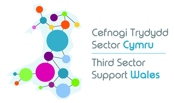 Third Sector Support Wales logo (WCVA / CVC Infrastructure support)