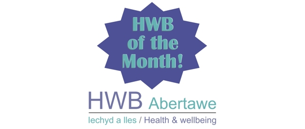 HWB of the month banner graphic