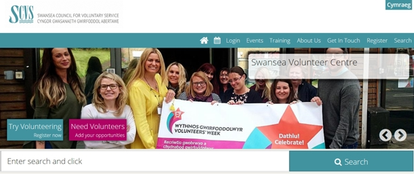 Swansea Volunteering Wales screenshot Oct 18 banner.jpg
